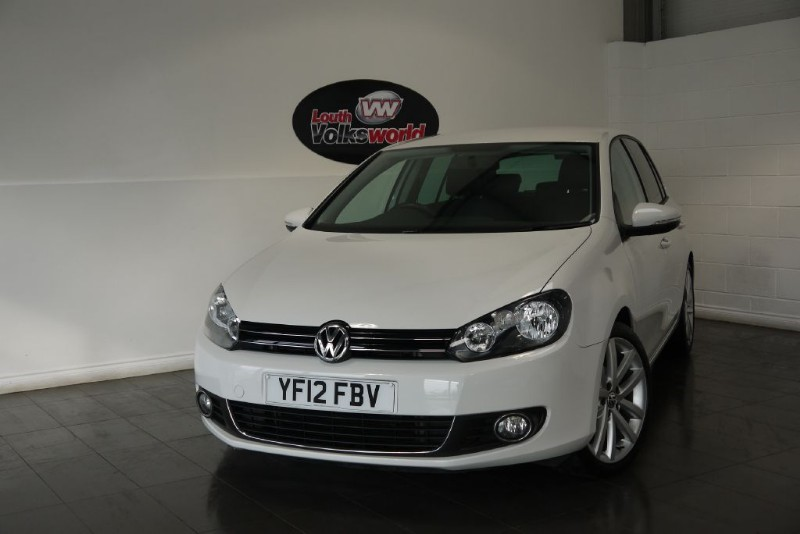 used VW Golf TDI GT 5DR FULL LEATHER INTERIOR in lincolnshire-for-sale