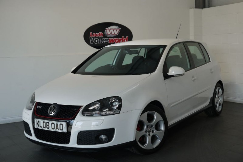 used VW Golf GTI 5DR FULL LEATHER INTERIOR HEATED SEATS in lincolnshire-for-sale