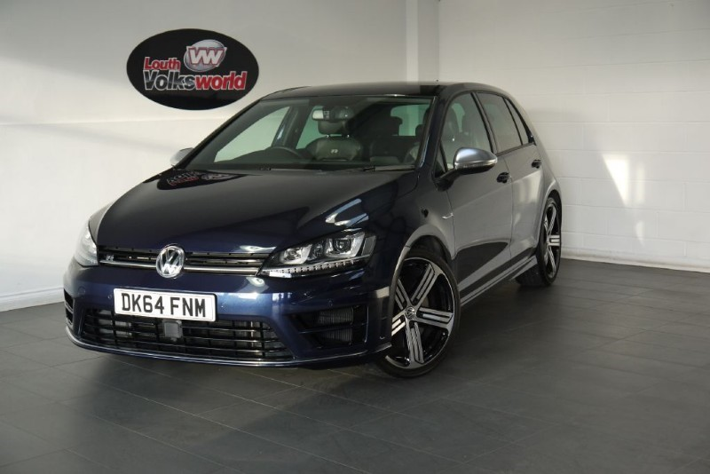 used VW Golf R DSG 300PS HUGE SPEC in lincolnshire-for-sale