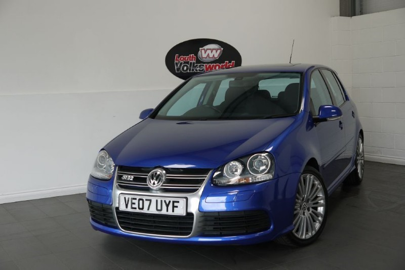 used VW Golf R32 5DR FULL SERVICE HISTORY SUNROOF in lincolnshire-for-sale
