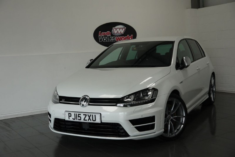 used VW Golf R 5DR TOP SPEC  in lincolnshire-for-sale