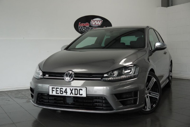 used VW Golf R DSG SAT NAV in lincolnshire-for-sale