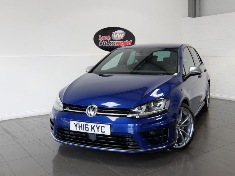 "used VW Golf R DSG FULL LEATHER DISCOVERY NAV 19"" PRETORIA ALLOYS in lincolnshire-for-sale"