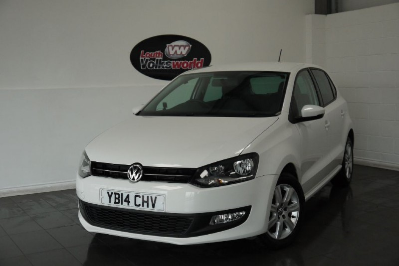 used VW Polo TDI MATCH EDITION 5DR in lincolnshire-for-sale