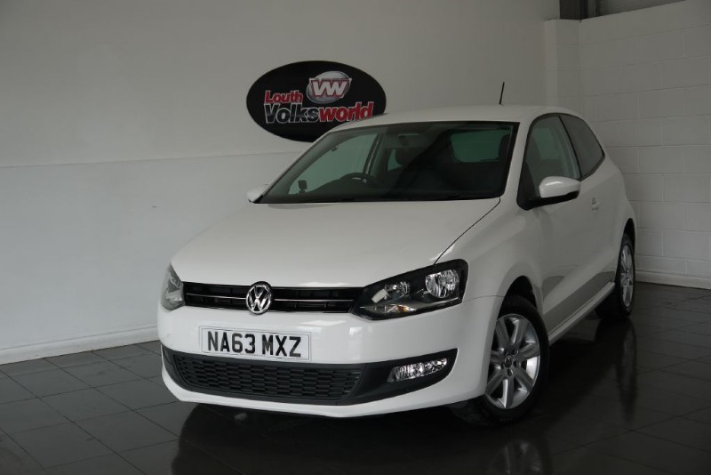 used VW Polo TDI MATCH EDITION 3DR in lincolnshire-for-sale