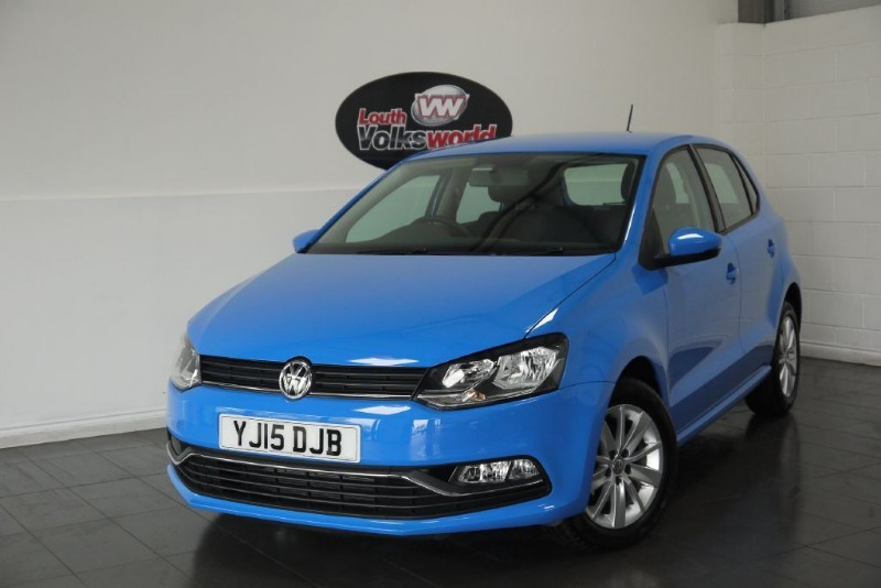 used VW Polo TSI SE 5DR ONLY 728 MILES in lincolnshire-for-sale