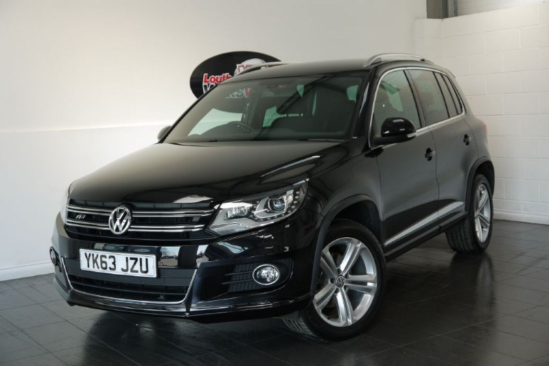 used VW Tiguan R LINE TDI BLUEMOTION TECH 4MOTION AUTOMATIC SAVE £1000 in lincolnshire-for-sale