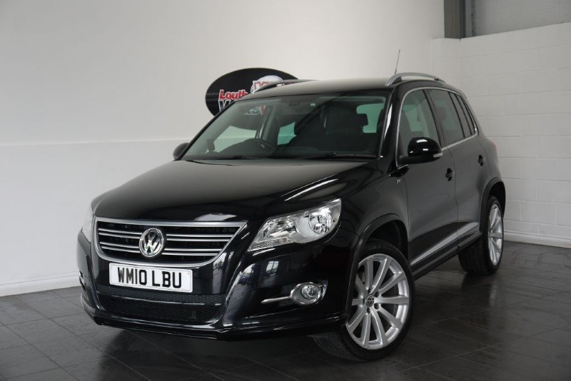 used VW Tiguan TDI R LINE 4MOTION in lincolnshire-for-sale