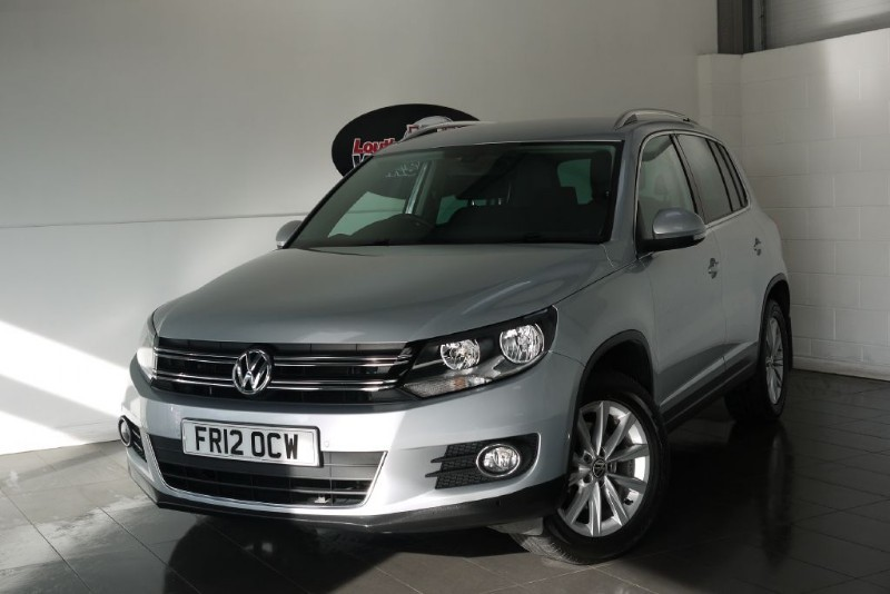 used VW Tiguan TDI SE BLUEMOTION 5DR 4MOTION in lincolnshire-for-sale