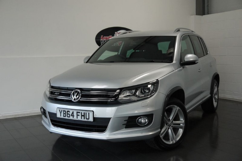 used VW Tiguan TDI R-LINE BLUEMOTION 5DR in lincolnshire-for-sale