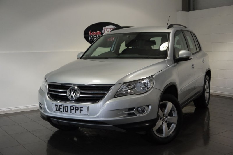 used VW Tiguan TDI ESCAPE 5DR SAT NAV in lincolnshire-for-sale
