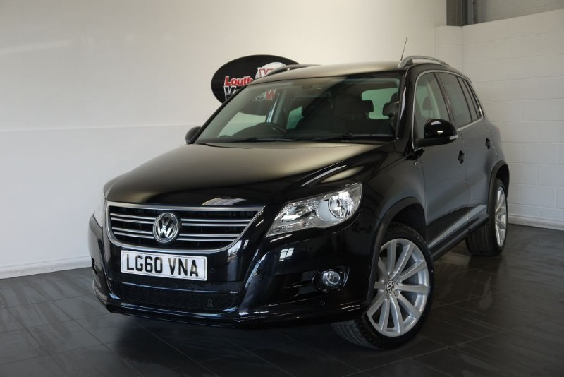 used VW Tiguan TDI R-LINE 4MOTION 5DR in lincolnshire-for-sale