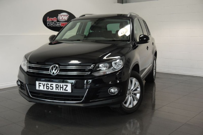 used VW Tiguan TDI MATCH 5DR BLUEMOTION 4MOTION in lincolnshire-for-sale