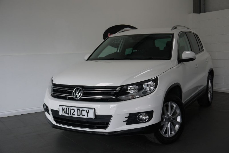 used VW Tiguan TDI SE BLUEMOTION 5DR 4MOTION AIR CON HEATED SEATS in lincolnshire-for-sale