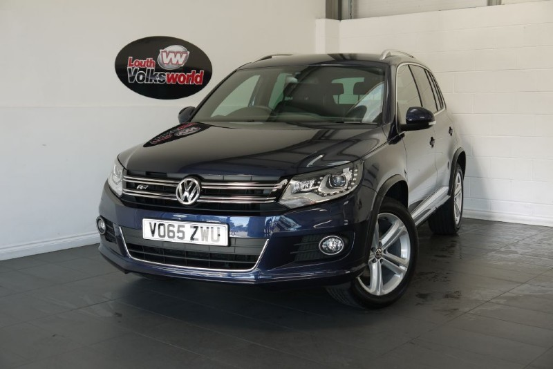 used VW Tiguan TDI R LINE BLUEMOTION 5DR SAT NAV in lincolnshire-for-sale