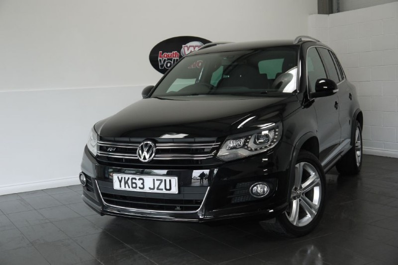 used VW Tiguan TDI R LINE 4MOTION 5DR AUTOMATIC  in lincolnshire-for-sale