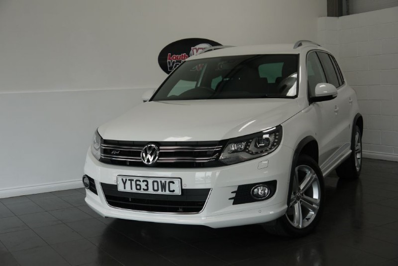 used VW Tiguan TDI R LINE 4MOTION 5DR ONE OWNER FULL SERVICE HISTORY in lincolnshire-for-sale