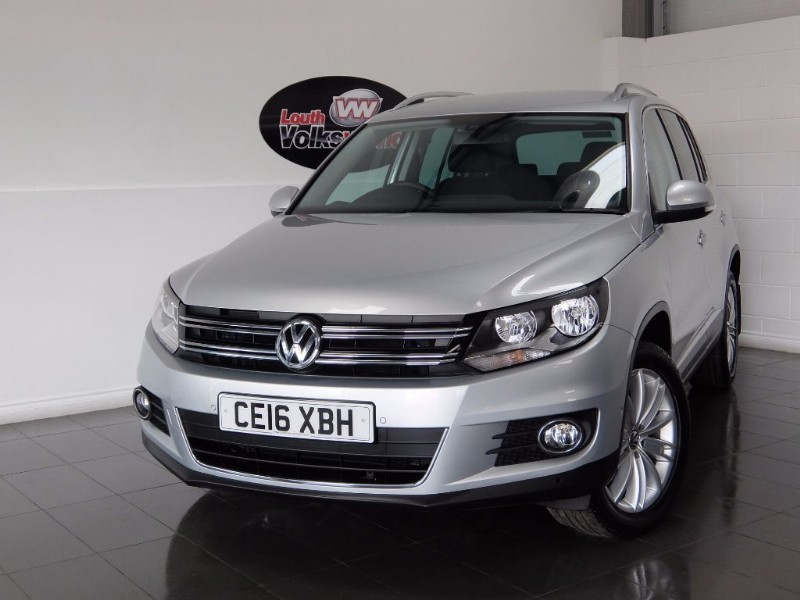 used VW Tiguan MATCH EDITION TDI BMT 4MOTION DSG SAT NAV, KEYLESS START, CRUISE, ELECTRIC  in lincolnshire-for-sale