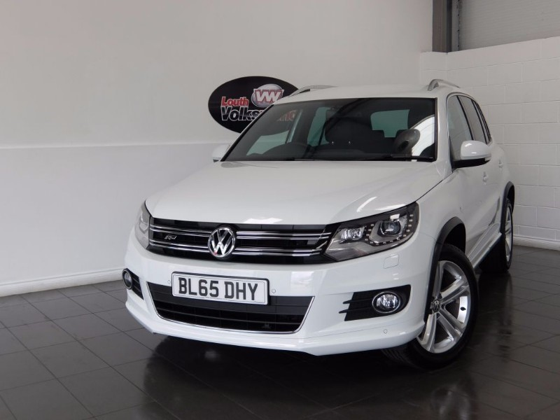used VW Tiguan TDI R LINE EDITION 5DR AUTOMATIC in lincolnshire-for-sale