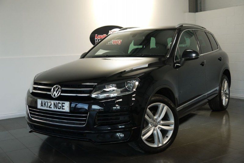 used VW Touareg TDI ALTITUDE 5DR BLUEMOTION SAT NAV FULL LEATHER INTERIOR  in lincolnshire-for-sale