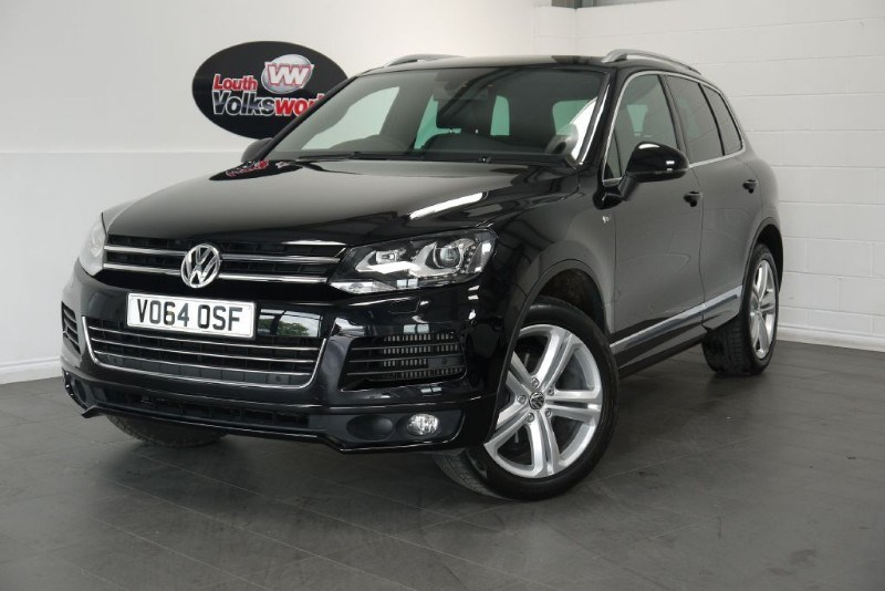 used VW Touareg V6 R-LINE TDI BLUEMOTION TECHNOLOGY in lincolnshire-for-sale