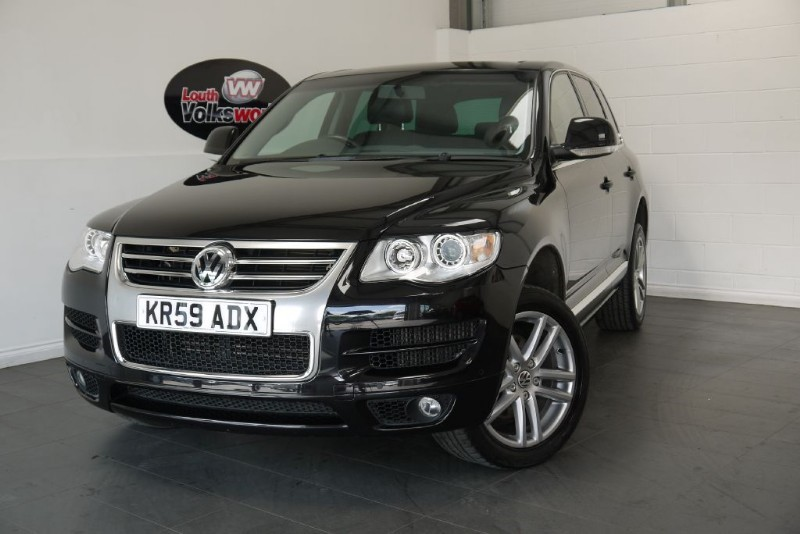 used VW Touareg V6 ALTITUDE TDI in lincolnshire-for-sale