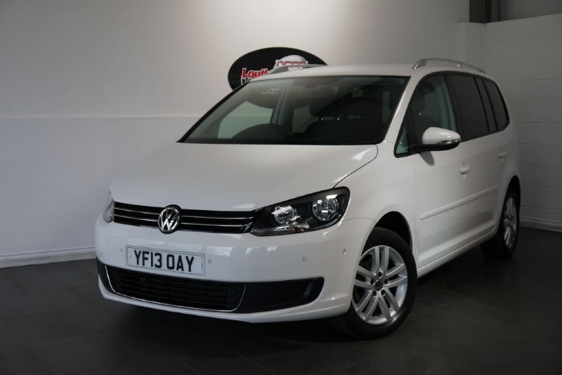 used VW Touran TDI SE 5DR AUTOMATIC in lincolnshire-for-sale