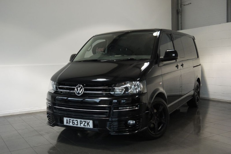used VW Transporter TDI HIGHLINE KOMBI 5DR AUTOMATIC SAT NAV  in lincolnshire-for-sale