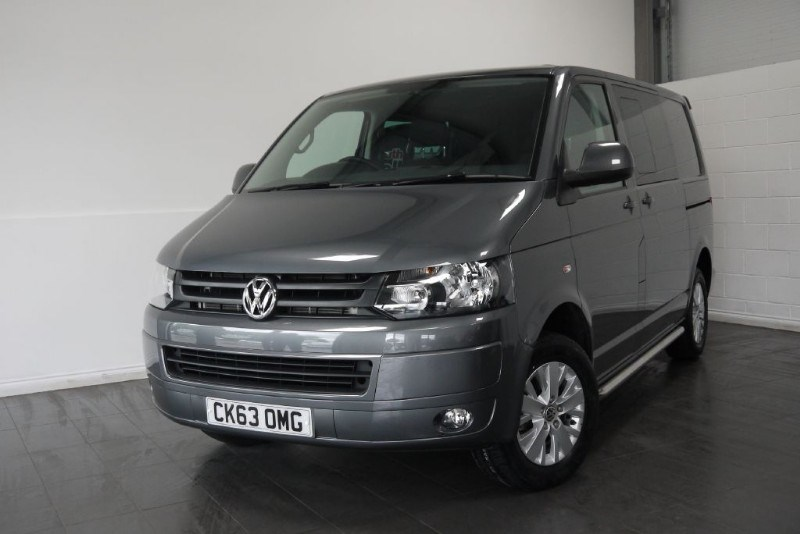 used VW Transporter T30 TDI KOMBI HIGHLINE 6000 MILES in lincolnshire-for-sale