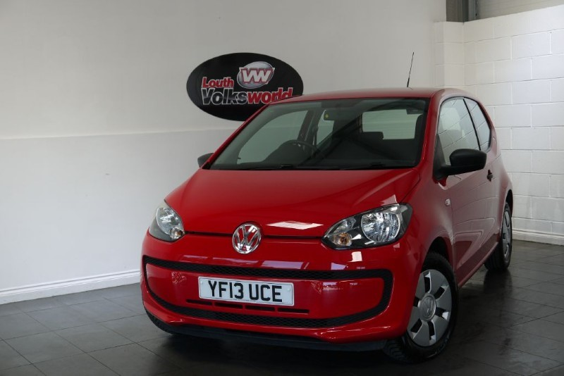 used VW Up TAKE UP 3DR £20 P/YEAR TAX IDEAL FIRST CAR in lincolnshire-for-sale
