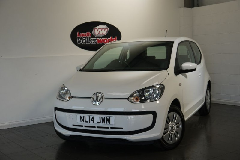 used VW Up MOVE UP 3DR £20 P/YEAR TAX in lincolnshire-for-sale