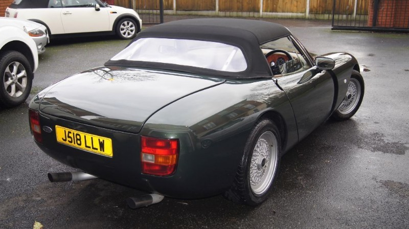 used tvr griffith 400 quality used cars for sale in wigan greater manchester. Black Bedroom Furniture Sets. Home Design Ideas