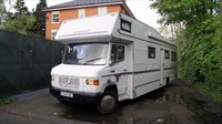 Used Mercedes 814D 30ft LandSleeper Motorhome