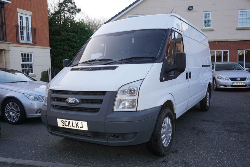 Car of the week - Ford Transit 350 SHR NO VAT - Only £3,995