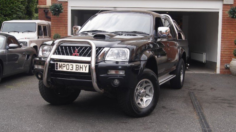 Car of the week - Mitsubishi L200 TD 4WD LWB WARRIOR DCB - Only £3,450