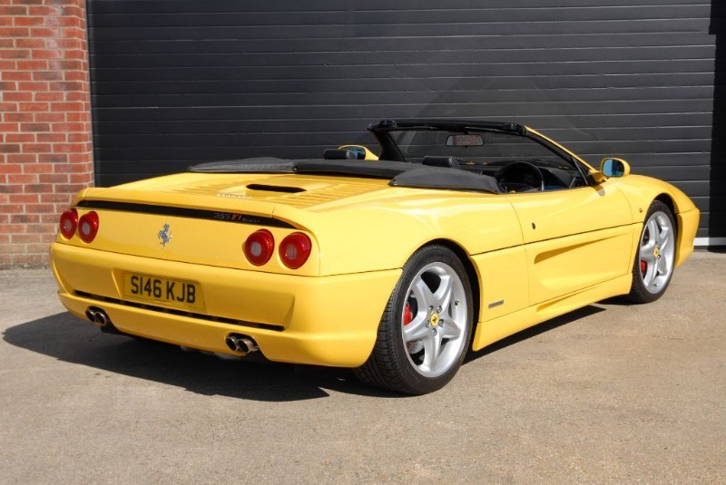 Ferrari F355 Gts Spider F1 For Sale Ringwood Hampshire