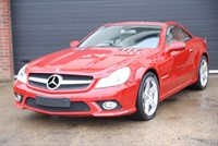 Used Mercedes SL500 Panoramic Roof
