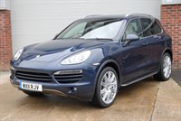 "Used Porsche Cayenne D V6 TIPTRONIC S with 21"" Cayenne Wheels"