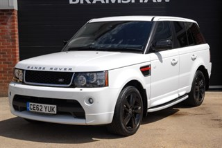 Land Rover Range Rover Sport SDV6 HSE RED Edition with AUTOBIOGRAPHY Bodystyling