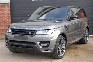 Land Rover Range Rover Sport V8 AUTOBIOGRAPHY DYNAMIC with 22 Wheels and Rear Entertainment