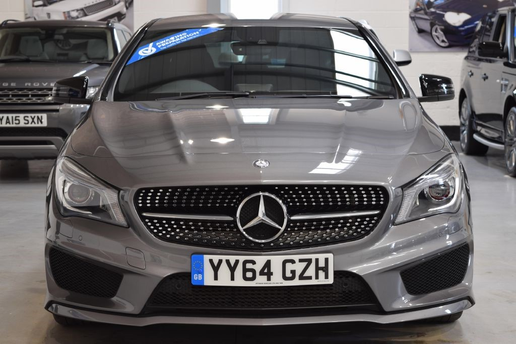 Used mountain grey metallic mercedes cla 220 cdi for sale for Mercedes benz cla for sale uk
