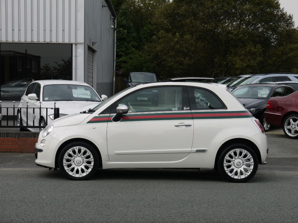 used fiat 500 by gucci with panoramic roof for sale in. Black Bedroom Furniture Sets. Home Design Ideas