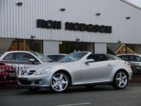Used Mercedes SLK350 with Heated Leather and Air Scarf