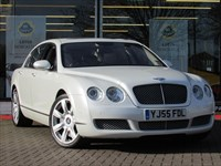 Used Bentley Continental Flying Spur 6.0 W12 FULL PEARL WHITE BODY WRAP
