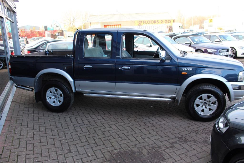 used silver blue ford ranger for sale cheshire
