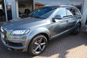 used Audi Q7 TDI QUATTRO S LINE. FINANCE SPECIALISTS in warrington-cheshire