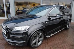 used Audi Q7 TDI QUATTRO S LINE. FINANCE SPECIALISTS in warrington-cheshire