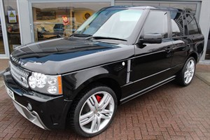 used Land Rover Range Rover OVERFINCH TDV8 VOGUE SE. FINANCE SPECIALISTS in warrington-cheshire