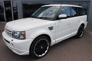 used Land Rover Range Rover Sport TDV8 HSE OVERFINCH KIT. FINANCE SPECIALISTS in warrington-cheshire