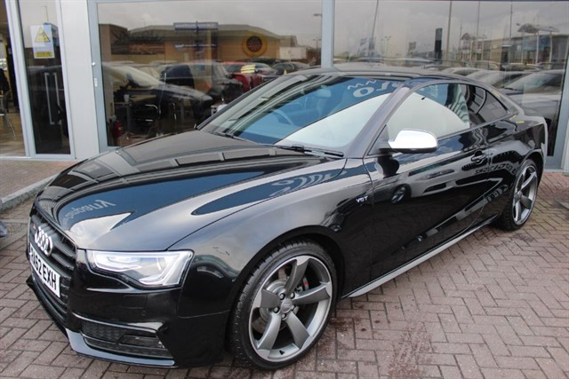 used Audi S5 TFSI QUATTRO S LINE BLACK EDITION. FINANCE SPECIALISTS in warrington-cheshire